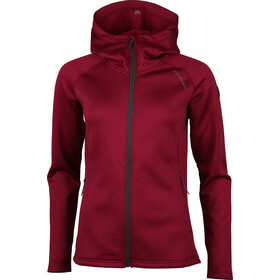North Bend Vector Fleece Hoodie Jacket Women dark fuchsia